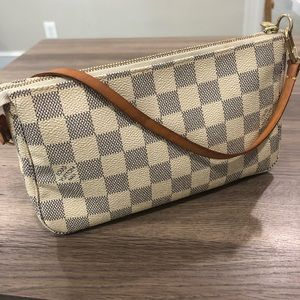 Louis Vuitton Damien Azur Pochette Bag